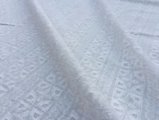Broderie Anglaise on cotton lawn, 'Juliet' (per metre) dress fabric, sewing