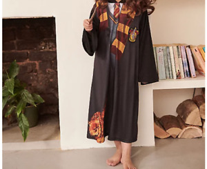 GENUINE Harry Potter Hermione Granger Fancy Dress Costume OUTFIT BOOK DAY WIG