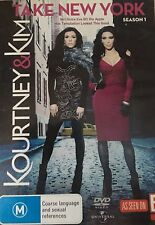 Kourtney & Kim Take New York Season One 2-Disc Set Region 4 DVD VGC