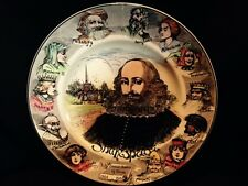 Shakespeare Doulton English D6303 Collector's plate