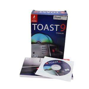 Roxio Toast 9 Titanium (for Mac) in Retail Box - USED