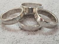 Silver Proof State Quarter Coin Rings, Handmade, Sizes 7 to 13 Choose Your State
