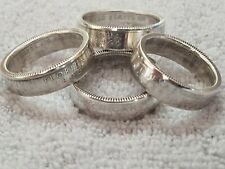 11ef466661ea Silver Proof State Quarter Coin Rings