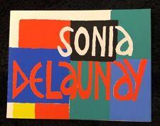 CARTON D'INVITATION SONIA DELAUNAY AU MUSEE D'ART MODERNE 1967