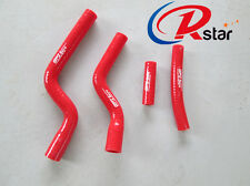 For Yamaha YZ250F YZF250 07-09 Radiator Silicone Hose Red 2007 2008 2009