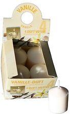 Deko-Stumpenkerze & -Teelichter mit Vanille