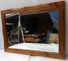 Specchio in legno di teak naturale stagionato cm 60x80  natural model