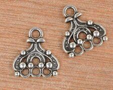 20pcs Tibetan Silver charm earring Connectors Connector 14mm  FA3461
