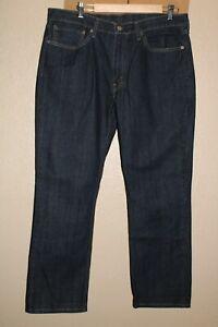 """Levi's 514 Hommes 36 """" W 30 """" L Slim-Droit Jean / Pantalon Combiner Envoi Remise"""