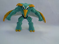 Gormiti Giochi Preziosi PVC Action Figure Teal / Yellow / White Wings # 8