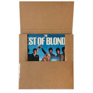 33 RPM RECORDS BCW Wrap Mailer Cost Effective and Durable Holds up to 5 Records