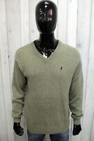 MARLBORO CLASSICS Uomo Taglia M Maglione Sweater Maglia Pullover Maglietta Pull
