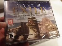Myst III (3) Exile PC & Mac Video Game New Sealed