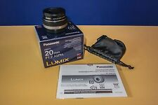 Panasonic Lumix 20 mm F/1.7 Aspherical AF G Lens for Micro Four Thirds Cameras