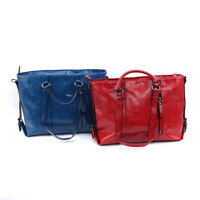 Women Fashion PU Leather Shoulder Bag Tote Large Handbag Office Ladies Bags shan