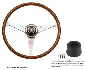 Nardi Anni 50 380mm Steering Wheel + Hub for Saab 95 - 96 5038.39.3000 + .4302