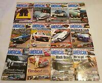 Classic American Car Magazine 2006 Complete Set Full Year Issue 177-188 Calendar
