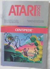 61030 Instruction Booklet - Centipede - Atari 2600 / 7800 (1988)