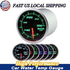"2"" 52mm Chrome Digital LED Fahrenheit Water Temp Temperature Gauge 12V"