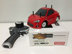 Used Very Rare Kyosho MINI-Z COMIC RACER&KT-18 PROPO from Japan F/S