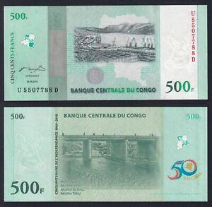 Congo 500 francs 2010 FDS/UNC  C-09