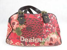 Desigual Hand Bag Messenger Shoulder Red Flower Floral Ladybug