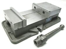 Kurt Anglock 8 Milling Machine Vise With Jaws Amp Handle D80
