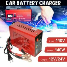12V/24V Car Battery Charger Volt Pure Copper Pulse Repair Smart Car Battery USA
