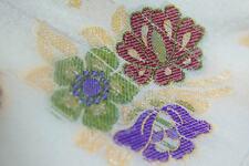 Luxurious Handwoven Benarasi Brocade Unique Golden Thread Motifs Silk Fabric