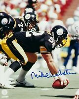 Mike Webster Autographed Signed 8x10 Photo ( HOF Steelers ) REPRINT