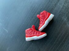 """1/6 Air Jordan XI Red Sneakers HOLLOW For 12"""" Hot Toys PHICEN Male Figure"""