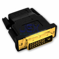 High Quality Male DVI-D to Female HDMI Converter PC to TV/Projector Gold Plated