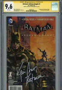 BATMAN: ARKHAM KNIGHT #1 Signed KEVIN CONROY 1st app. Arkham Knight (CGC SS 9.6)