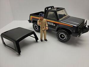 Vintage 1979 TONKA MR-970 Truck Jeep Bronco & Big Duke FigureIncludes Spare