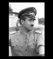 1941 German Fighter Ace Adolf Galland PHOTO Youngest General, Luftwaffe Pilot