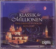 Klassik für Millionen - Reader's Digest  5 CD Box  OVP