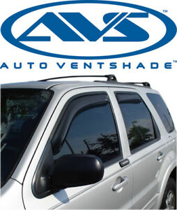 AVS 194001 In-Channel Window VentVisor 4-Piece 01-12 Mercury Mariner Ford Escape