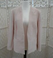 Women's  Roman Originals Size 16 Pale Pink Special Occasion  Edge to Edge Jacket