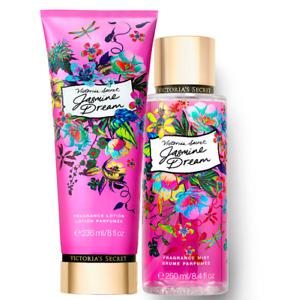 Victoria's Secret Jasmine Dream Fragrance Lotion + Fragrance Mist Duo Set