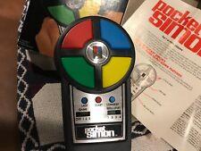 Pocket Simon 1980 MB Electronics Milton Bradley w box & Paperwork