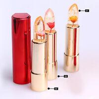 Damen Magie Farbe Temperatur Veränderung Moisturizer Blumen Lippenstift Gloss #