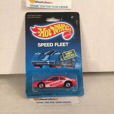 Thunderbird Stocker 4916 RED * Malaysia 1988 * Hot Wheels * WB21
