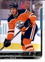 2018-19 Upper Deck NHL Series 2 Young Guns #479 Ethan Bear RC Rookie Card Edmont
