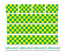 AMBULANCE DECALS Road Mountain Bike/Bicycle, Toy Car Stripes Frame Stickers