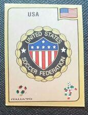 1990 PANINI ITALIA 90 ORIGINAL UNUSED UNITED STATES   BADGE STICKER #95