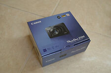 Brand New Canon PowerShot S100 (Silver) 12.1MP Digital Camera 5X Zoom MSRP $599