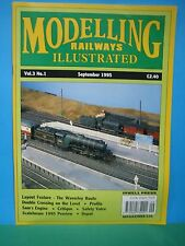 MODELLING RAILWAYS ILLUSTRATED ~ Vol 3 No 1 SEPTEMBER 1995 > EXCELLENT SEE PIC'S