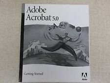 Adobe Acrobat 5.0 Getting Started Guide User's Manual 90028788 1/01 *FREE SHIP*