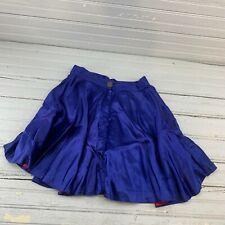 Vintage Reversible Skirt Red Blue Roller Skating