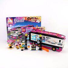 LEGO Friends Pop Star Tour Bus 41106 with Instructions No Original Packaging